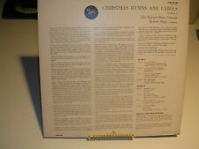 The Robert Shaw Chorale Christmas Hymns and Carols Volume 1 LM-1112 G+ / VG