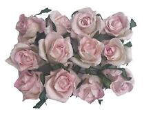 Large Pink Paper Roses 1.5