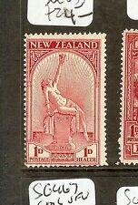 NEW ZEALAND (P0308B) 1D HEALTH MSG552  MOG