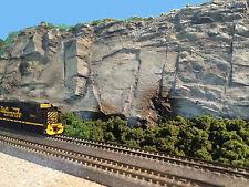 JAGGED SLABS HO S O On30 F G Model Railroad Scenery Latex Rubber Rock CVJS