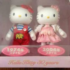 Hello Kitty 2 Figure Set 30th Anniversary Limited 1974 2004 Style Japan F/S Rare