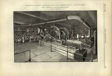 1887 Electric Light Installation At Whiteleys Bayswater