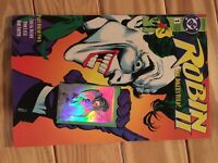 Robin 2 The Joker's Wild Issue #1 Lyle Giordano Variant 1991 Great Condition