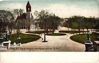 Vintage Postcard - 1915 Capital Grounds City Hall Albany New York NY #4242