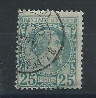 Monaco N°6 Obl (FU) 1885 - Prince Charles III