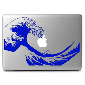"""The Great Wave off Kanagawa Vinyl Decal for Apple Macbook Air & Pro 13"""" 13.3"""""""