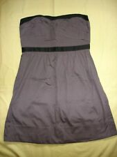 NWT American Eagle AE Outfitters Women Gray Black mini Dress Discontinued 12
