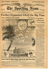 The Sporting News Baseball newspaper 11/29/1961, Further Expansion Likely ~ VG