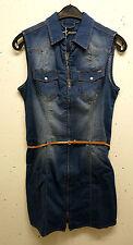 Stretchkleider aus Baumwollmischung ohne Muster