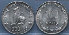 Myanmar (BIRMA-BURMA) - 100 Kyats 1999 - nice!