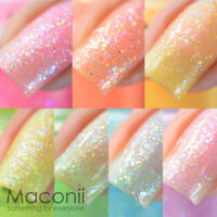 Color Club - Poptastic Pastel Neon Remix - Glow In The Dark Nail Polish 15ml
