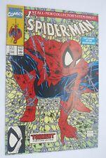 Spider-Man #1 Torment Green Variant Todd McFarlane Marvel 1990 Nm Near Mint
