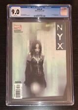 NYX #3 (1ST X-23/LAURA KINNEY, WOLVERINE'S DAUGHTER) CGC 9.0! ❄️ White Pgs! HOT!
