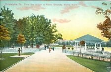 Willow Grove PA From the Bridge to the Picnic Grounds, Willow Grove Park 1908