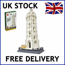 THE LEANING TOWER OF PISA ARCHITECTURE BUILDING BRICKS 1392 PCS COMPATIBLE