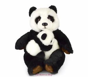 "~❤️~PANDA Mum And Baby KORIMCO 12""30cm Large Soft Toy stuffed animal BNWT~❤️~"