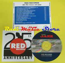 CD RED RECORDS 25 TH ANNIVERSARY compilation PROMO 2001 (C1)no lp mc dvd vhs