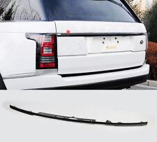 Black Rear Door Tailgate Trunk Molding Trim Cover For Range Rover Vogue L405