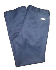 NEW MENS IZOD SPORTSWEAR ADVANTAGE PERFORMANCE TRACK PANTS BLUE SIZE XL