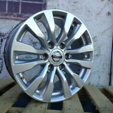18 inch Nissan Patrol Y62 Genuine Factory Wheels Silver