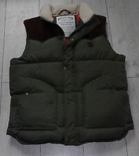 "Tommy Hilfiger Denim ""L"" Down Gilet Jacket Bodywarmer Green Vest"