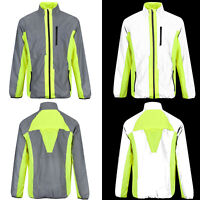BTR High Visibilty Reflective Outdoor Jacket. High Viz Cycling & Running Jacket