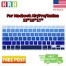Ombre Rainbow Silicone Keyboard Cover Skin Protector for MacBook Pro Air 13 15