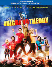The Big Bang Theory: The Complete Fifth Season (Blu-ray Disc, 2012, 5-Disc Set)