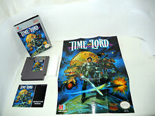 TIME LORD complete in box with manual and poster NES NTSC videogame nintendo