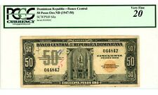 Dominican Rep ... P-64a ... 50 Pesos ... ND(1947-50) ... * VF *  PCGS 25 (VF).