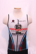 New Pactimo Men's Delfino 2.0 Tri Top Cycling Bike Medium Sleeveless Black