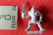 Citadel Ch6 Realms of Chaos Thug 1988 Marauder Games Workshop Warhammer Mint Oop