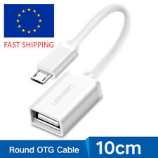 Ugreen Micro USB to USB OTG Cable On the Go Adapter for Samsung S7 S6 LG G3 HTC