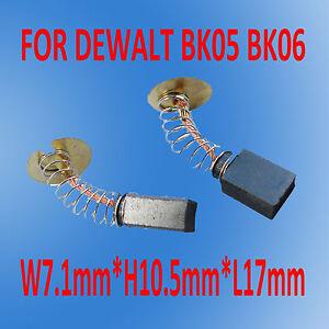 Carbon Brushes For Black Decker 450374-12 27182 23802 27126 3108 BK05 Drill Saw