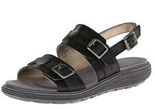 Rockport Women's Truwalk Zero 2 Band Buckle Dress Sandal Black 7 W ~ New In Box!