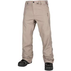New 2019 Volcom Mens Freakin Snow Chino Shell Snowboard Pants XL Shepherd