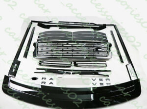 For Land Rover Range Rover 2013-2017Black Body kit Replacement Decorative trim