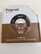Polaroid PL-8406-00 Deluxe Seda Bronce PLA Filamento Cartucho Nuevo