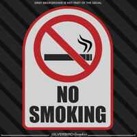 No Smoking sticker / vinyl decal / business window wall door car store bar shop