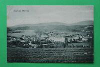 Bayern AK Gruss aus Metten NDB 1910 Ort Häuser Bauernhöfe Gebäude Kloster  (1