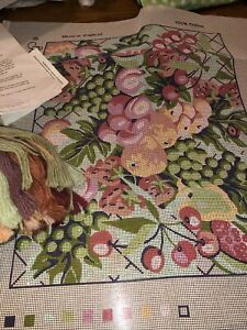Glorafilia Needlepoint Tapestry Kit Summer Harvest
