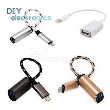 USB 2 host para conexión de cámara 8-Pin Kit Adaptador OTG cable para iPad Air 4 EE. UU.