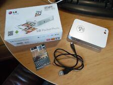 LG Pocket Photo Printer - Inkless photos - Android - NFC - Bluetooth - Micro USB