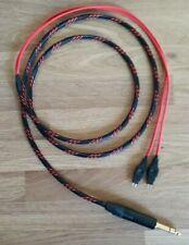 Sennheiser OFC silver plated headphone Cable HD600 HD580 HD650 1.5m 2m 3m