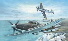 Avion de chasse Britannique BOULTON PAUL DEFIANT F1 - KIT TRUMPETER 1/48 n°02899
