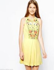 Viscose Dry-clean Only Floral Regular Size Dresses for Women