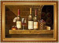 Ölbild STILLLEBEN Ölbild Stilleben ÖLGEMÄLDE HANDGEMALT Gemälde F60x90cm