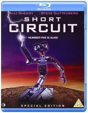 SHORT CIRCUIT (1986) BLU RAY REGION B NEW & SEALED  STEVE GUTTENBURG