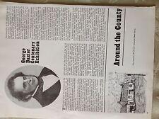 a1m ephemera 1967 article george Baxter Lewis centenary exhibition