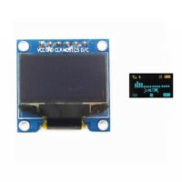 "0.96"" SPI Serial 128X64 blue yellow OLED LCD LED Display Module ASS"